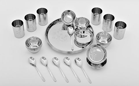 22 G 36 PCS DINNER SET- WHITE FLORAL DESIGN 13 BEGI - Edited
